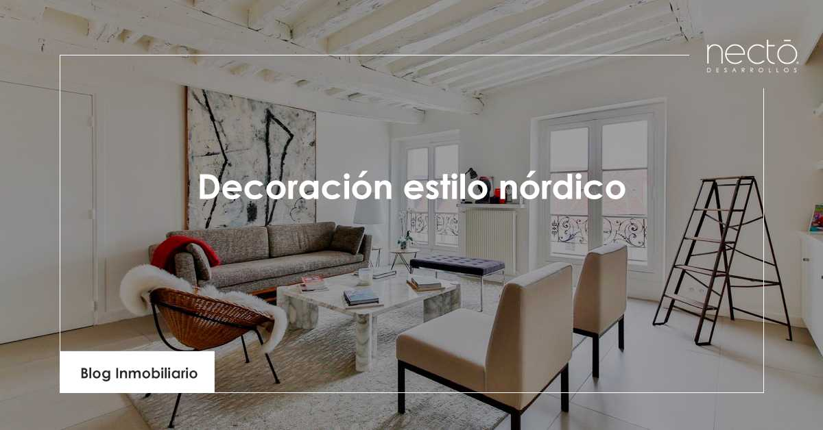 decoración estilo nórdico