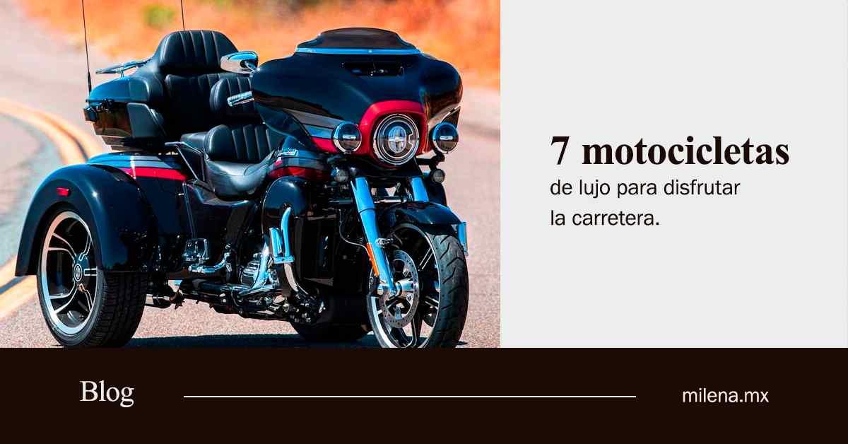 7 motocicletas de lujo para disfrutar de carreteras