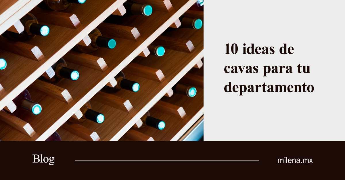 10 ideas de cavas para tu departamento