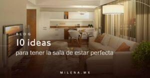 10 ideas para tener la sala de estar perfecta