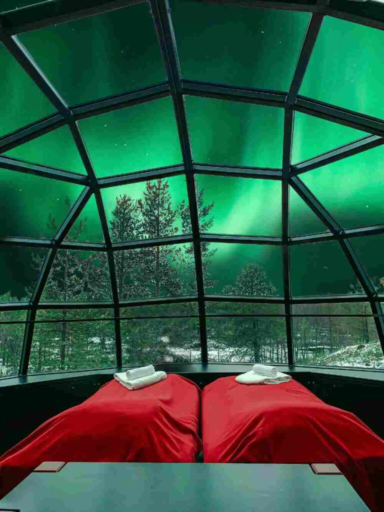 Turismo de lujo para ver auroras boreales
