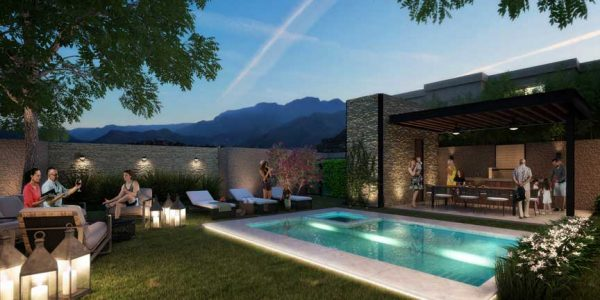 Milena departamentos piscina y grill garden